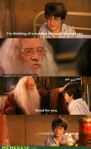 Good for you, Harry