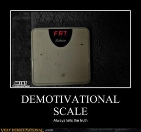 DEMOTIVATIONAL SCALE