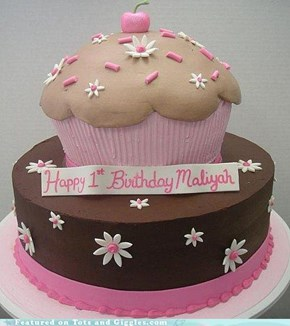 Cake of the Day: Cupcake Cake