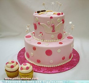 Cake of the Day: Polka Dot Power