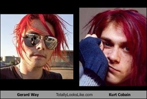 Gerard Way Totally Looks Like Kurt Cobain