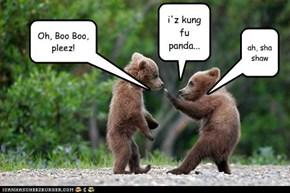i'z kung fu panda...