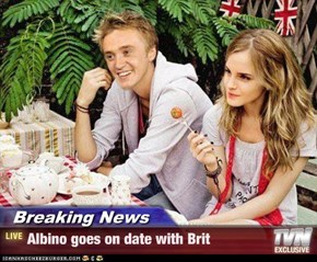 Breaking News - Albino goes on date with Brit