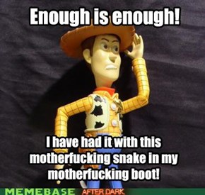 Snake in a Boot