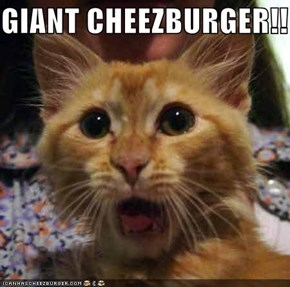 GIANT CHEEZBURGER!!