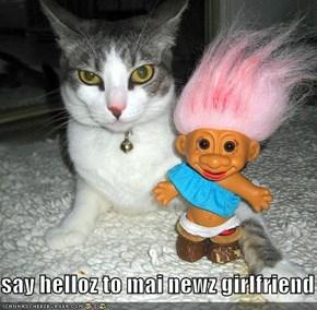 say helloz to mai newz girlfriend