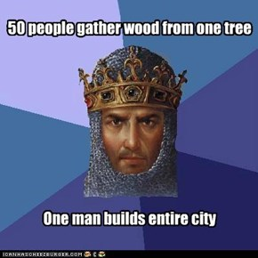 Age of Empires: How is that guy so productive?