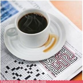 Coffee Saucer Maze