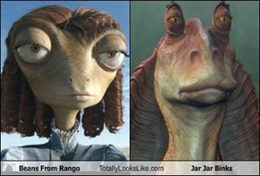 Beans From Rango Totally Looks Like Jar Jar Binks