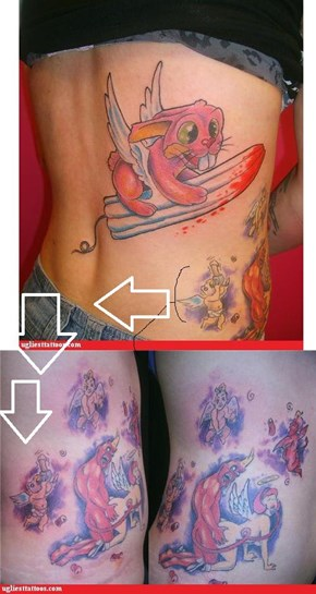 Twice on Ugliest Tattoos!