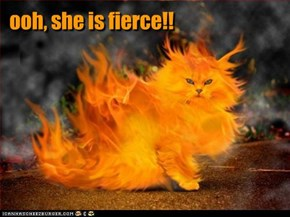 ooh, she is fierce!!