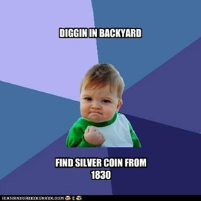 DIGGIN IN BACKYARD