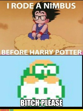 Lakitu: He Even Had Glasses First
