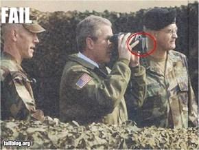 CLASSIC: Presidential Binocular FAIL