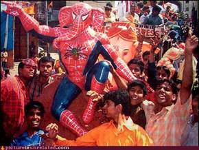 Spider-Elephant-Man