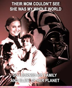 PTSD: Darth Vader