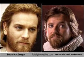Ewan MacGregor Totally Looks Like Doctor Who's Will Shakespeare