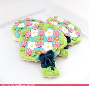 Epicute: Spring Bouquet Cookies