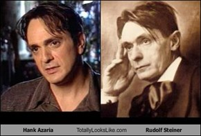 Hank Azaria Totally Looks Like Rudolf Steiner