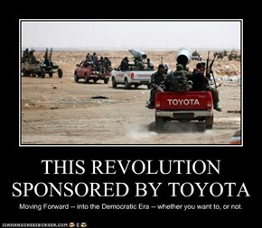 THIS REVOLUTION SPONSORED BY TOYOTA