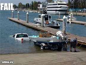 CLASSIC: Using the Boat Ramp FAIL