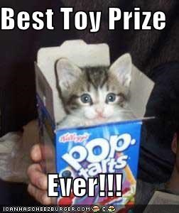Best Toy Prize  Ever!!!