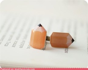 Pencil Cufflinks