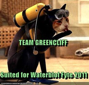 TEAM GREENCLIFF Suited for Waterblol Fyte 2011