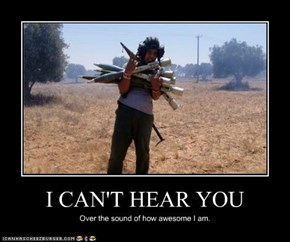 I CAN'T HEAR YOU