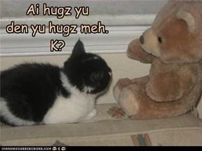 We hugz eech othur!