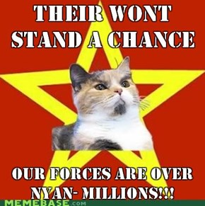 Lenin Cat - His going to invade the world!!!