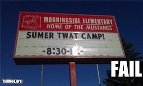 Camp Name FAIL