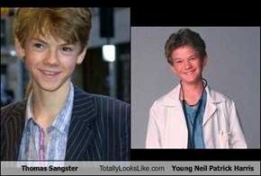 Thomas Sangster Totally Looks Like Young Neil Patrick Harris