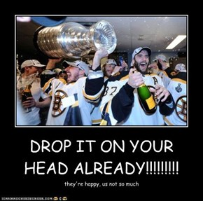 DROP IT ON YOUR HEAD ALREADY!!!!!!!!!