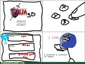 Zelda, I lied!