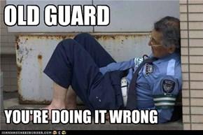 A Liddul Old Guard Humor foar Winnie