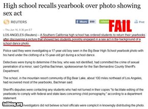 Probably Bad News: Yearbook Picture Fail
