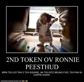 2ND TOKEN OV RONNIE PEESTHUD