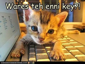 Cant finds teh key!