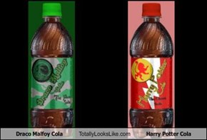 Draco Malfoy Cola Totally Looks Like Harry Potter Cola
