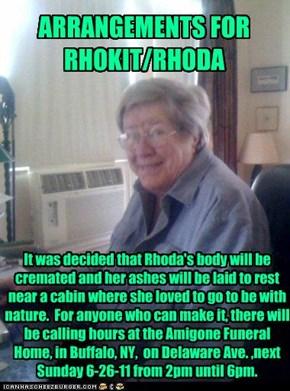 RHOKIT/RHODA