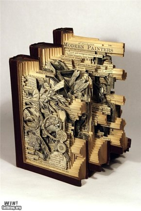 Carved Book Art WIN