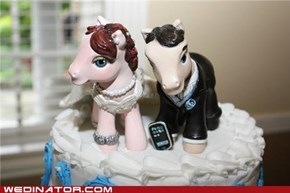 My Little Wedding Cake Toppers!