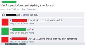 Your Wrong