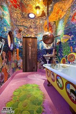 Awesome Beatles' Bathroom WIN
