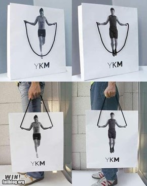 Shopping Bag Ad WIN