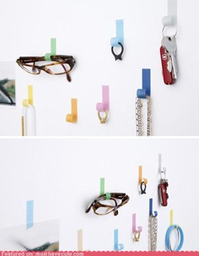 Magic Tape Hooks
