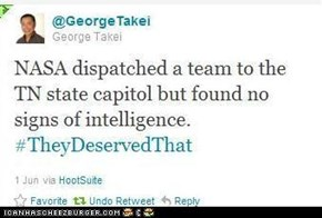 George Takei Strikes Again
