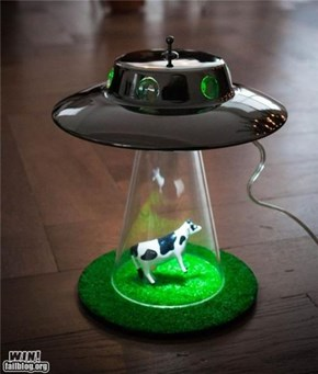 UFO Cow Lamp WIN