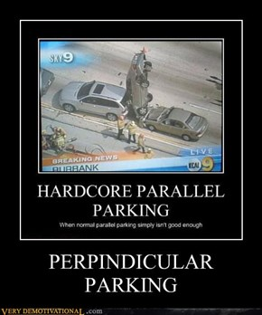 PERPINDICULAR PARKING